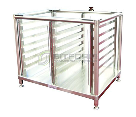 Simply Stainless SS27.CON.6/20+10/20 Convotherm Combi Stand | Stands