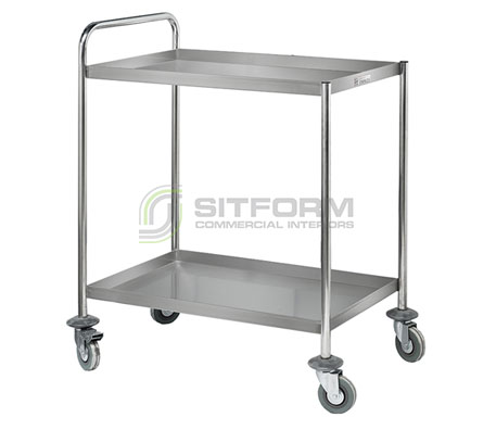Simply Stainless SS14 Two Tier Trolley | Trolleys