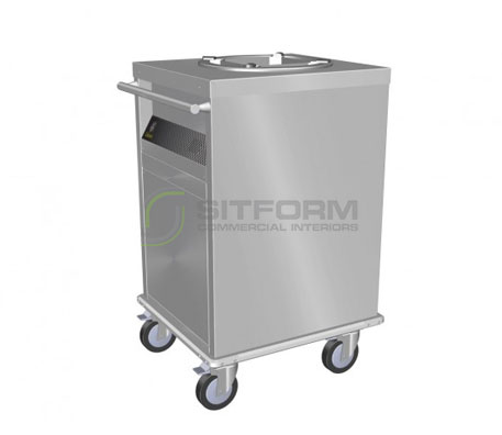 Culinaire CA.PD.1 – Ambient Mobile Plate Dispenser | Plate Dispensers | Restaurant & Kitchen Equipment