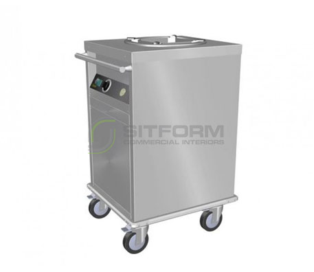 Culinaire CH.PD.HS.1 – Heated Mobile Plate Dispenser | Plate Dispensers | Restaurant & Kitchen Equipment
