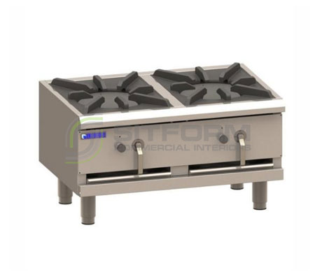 Luus Asian Series FSP-90 –  2 Duckbill Burners Freestanding Stockpot | Stock Pots