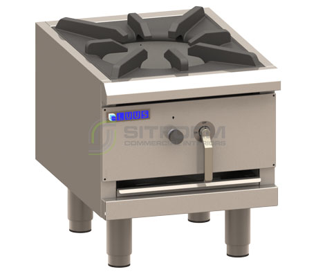Luus Asian Series FSP-45 – 1 Duckbill Burner Freestanding Stockpot | Stock Pots