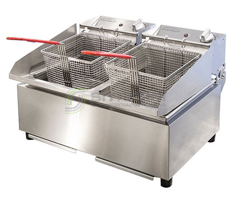 Woodson W.FRT80 – Fryer with 2 x 8 Litre Pans | Fryers