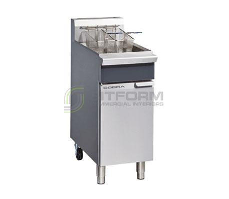 Cobra CF2 – 400mm Gas Fryer – Single Pan | Fryers