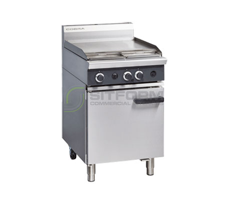 Cobra CR6B – 600mm Griddle Gas Range Static Oven | Ranges