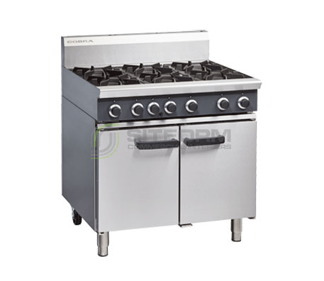 Cobra CR9D – 900mm Six Burner Gas Range Static Oven | Ranges