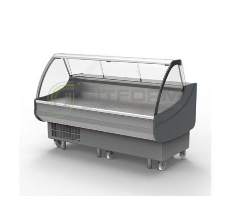 Bromic – DD0200CG Curved Glass Delicatessen Display | Delicatessen Displays