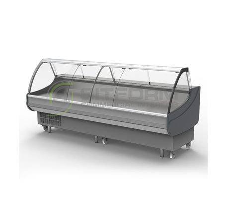 Bromic – DD0300CG Curved Glass Delicatessen Display   Delicatessen Displays