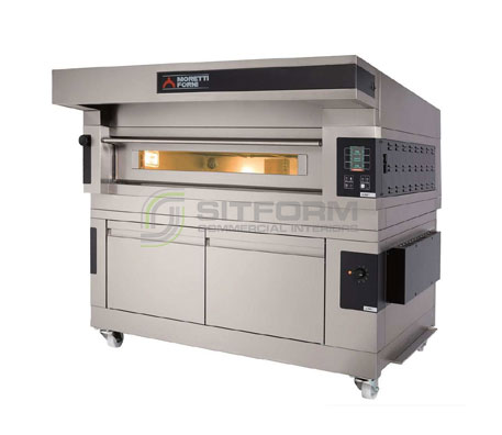 Moretti Forni COMP S100E/1 PROVER – Single Electric Deck Oven with Prover | Deck Ovens