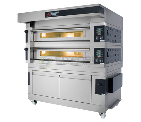 Moretti Forni Comp S100E/2 PROVER – Double Deck Electric Oven With Prover | Deck Ovens