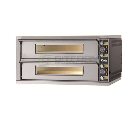 Moretti Forni PD 60.60 – iDeck Double Deck Electric Oven | Deck Ovens