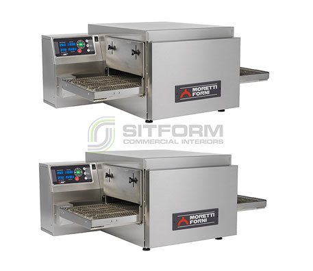 Moretti Forni Professional T64E DOUBLE – Double Deck Electric Bench-Top Conveyor Oven | Conveyor Ovens