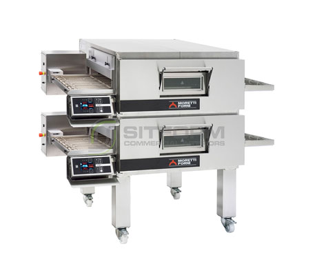 Moretti Forni Professional T75E DOUBLE Deck Conveyor Oven – Electric | Conveyor Ovens