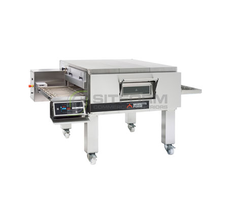 Moretti Forni Professional T75G SINGLE Deck – Gas Conveyor Oven | Conveyor Ovens