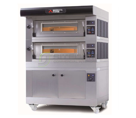 Moretti Professional –  COMP AMALFI A2 Double Deck Electric Oven   Deck Ovens
