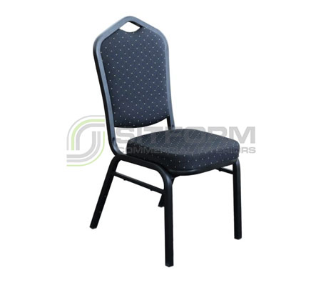 Florence Chair – Fabric / Black Frame | Chairs