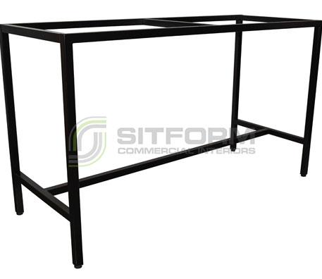 Keiza 1800mm base bar – Black | Indoor bases