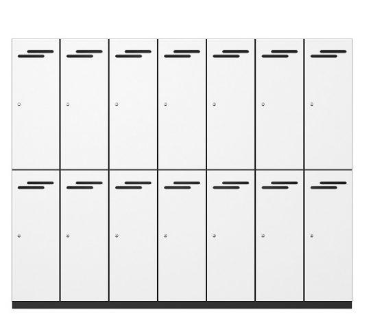 2 Door Melamine Lockers | Lockers