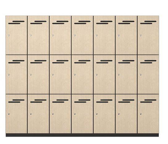 3 Door Melamine Lockers | Lockers