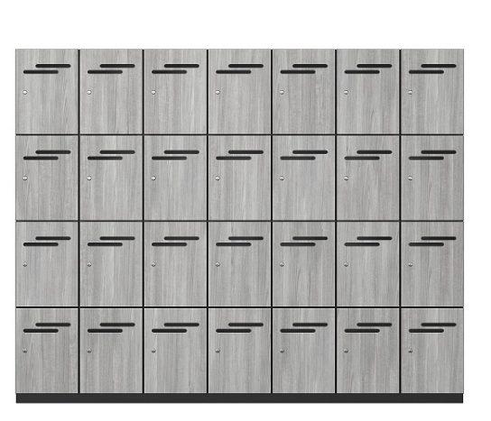4 Door Melamine Lockers | Lockers