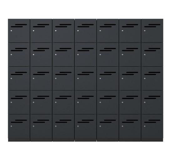 5 Door Melamine Lockers | Lockers