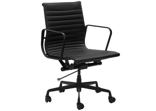 Berkeley Executive Chair – Black/Black | Executive Boardroom Chairs