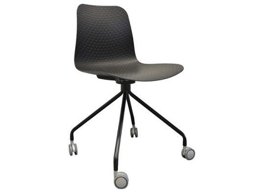 Emboss Castor Chair | Meeting-Training Chairs