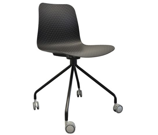 Emboss Castor Chair | Meeting-Training Chairs