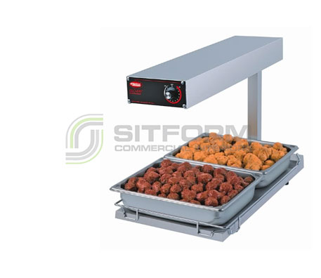 Hatco Corporation GR-FFB Glo Ray Portable Food Warmer/Chip Dump | Chip Dumps & Holding Bins | Restaurant & Kitchen Equipment