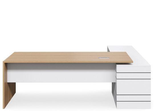 Geo Executive Slab End Desk   Executive Desks