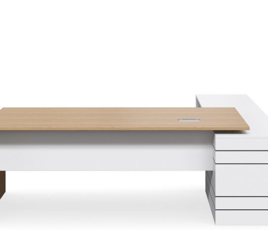 Geo Executive Slab End Desk | Executive Desks