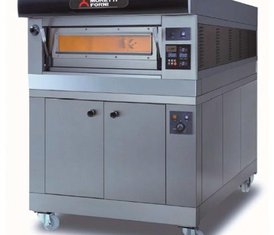 Moretti Forni –  COMP P60E/1PROVER Single Deck Modular Electric Deck Oven with Prover | Deck Ovens