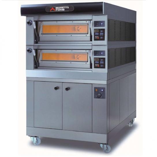 Moretti Forni –  COMP P60E/2 Double Deck Modular Electric Deck Oven   Deck Ovens