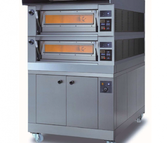 Moretti Forni –  COMP P60E/2 PROVER Double Deck Modular Electric Deck Oven with Prover | Deck Ovens