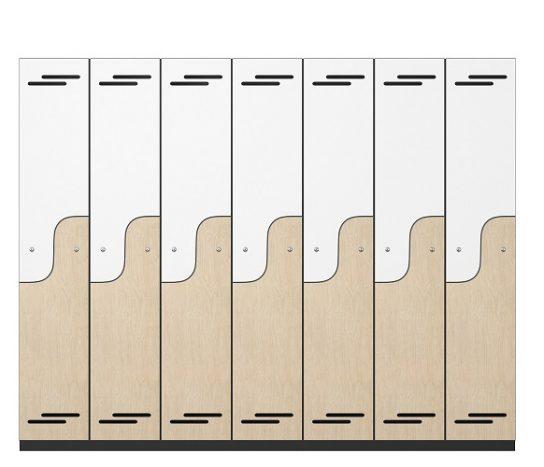 Puzzle Melamine Lockers | Lockers