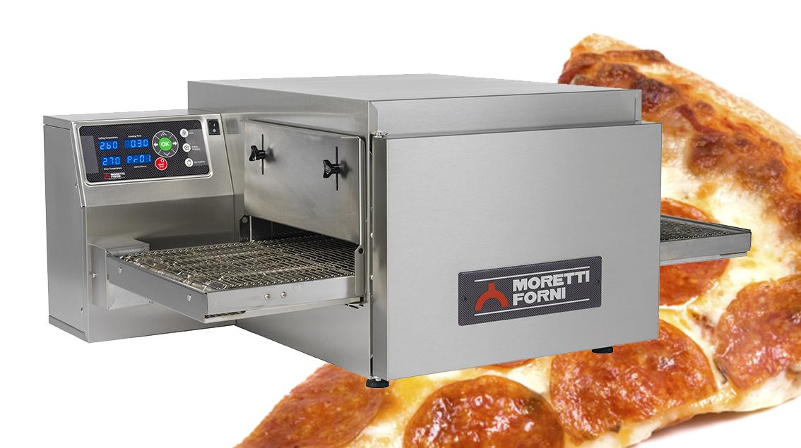 Moretti Forni T64E SINGLE – Single Deck Bench-Top Conveyor Oven   Conveyor Ovens