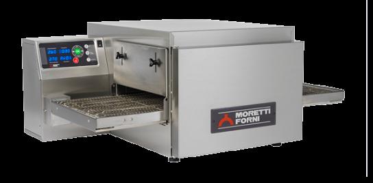 Moretti Forni T64G SINGLE – Single Deck Bench-Top GAS Conveyor Oven | Conveyor Ovens