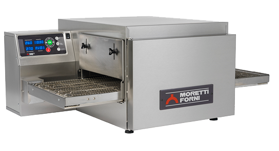 Moretti Forni T64G SINGLE – Single Deck Bench-Top GAS Conveyor Oven | Conveyor Ovens