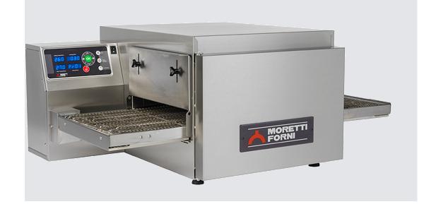 Moretti Forni T64G SINGLE – Single Deck Bench-Top GAS Conveyor Oven   Conveyor Ovens