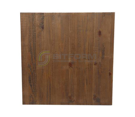 Tom Table Top Rustic SQ 700mm – Walnut | Commercial Table Tops | Commercial Furniture & Fit Outs