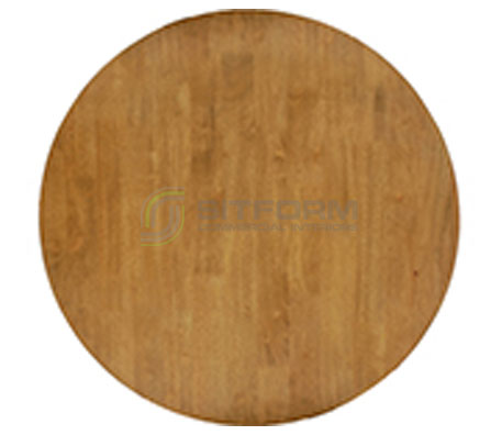 Toba Timber Table Top RD –  700mm | Commercial Table Tops | Commercial Furniture & Fit Outs
