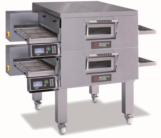Moretti Forni TT98GDOUBLE – Gas Deck Conveyor Oven | Conveyor Ovens