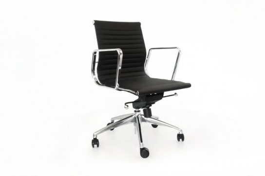 Turin Group Cantilever Mid-Back Chair   Executive Boardroom Chairs