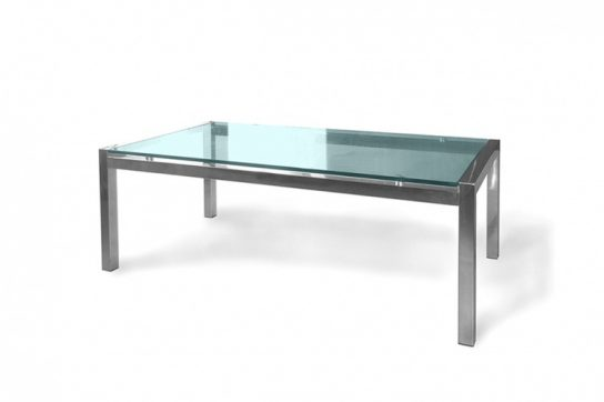 Soto Rectangle Glass Table   Coffee Tables