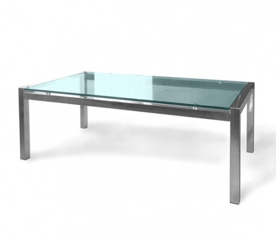 Soto Rectangle Glass Table | Coffee Tables