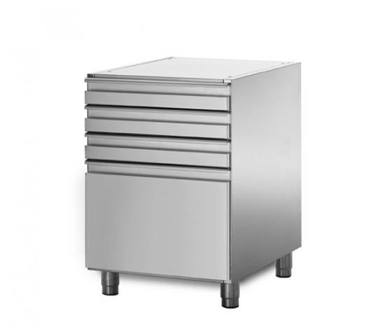 Coldline XS09/4 – 3+1 Drawer Ambient Bank | Underbench - Storage
