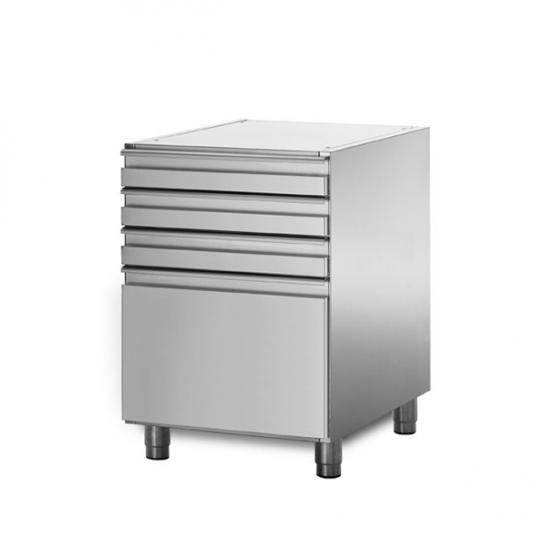 Coldline XS09/4 – 3+1 Drawer Ambient Bank   Underbench - Storage