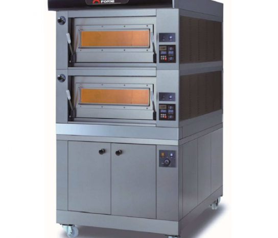 Moretti Forni COMP P60E/2 PROVER – Double Deck Electric Modular Bakery Oven with Prover | Bakery Ovens