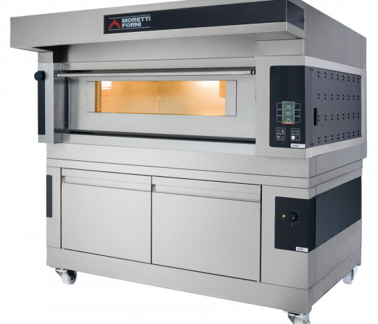 Moretti Forni Comp S100E/1A/L – Electric Single Deck Baking Oven With Prover | Bakery Ovens