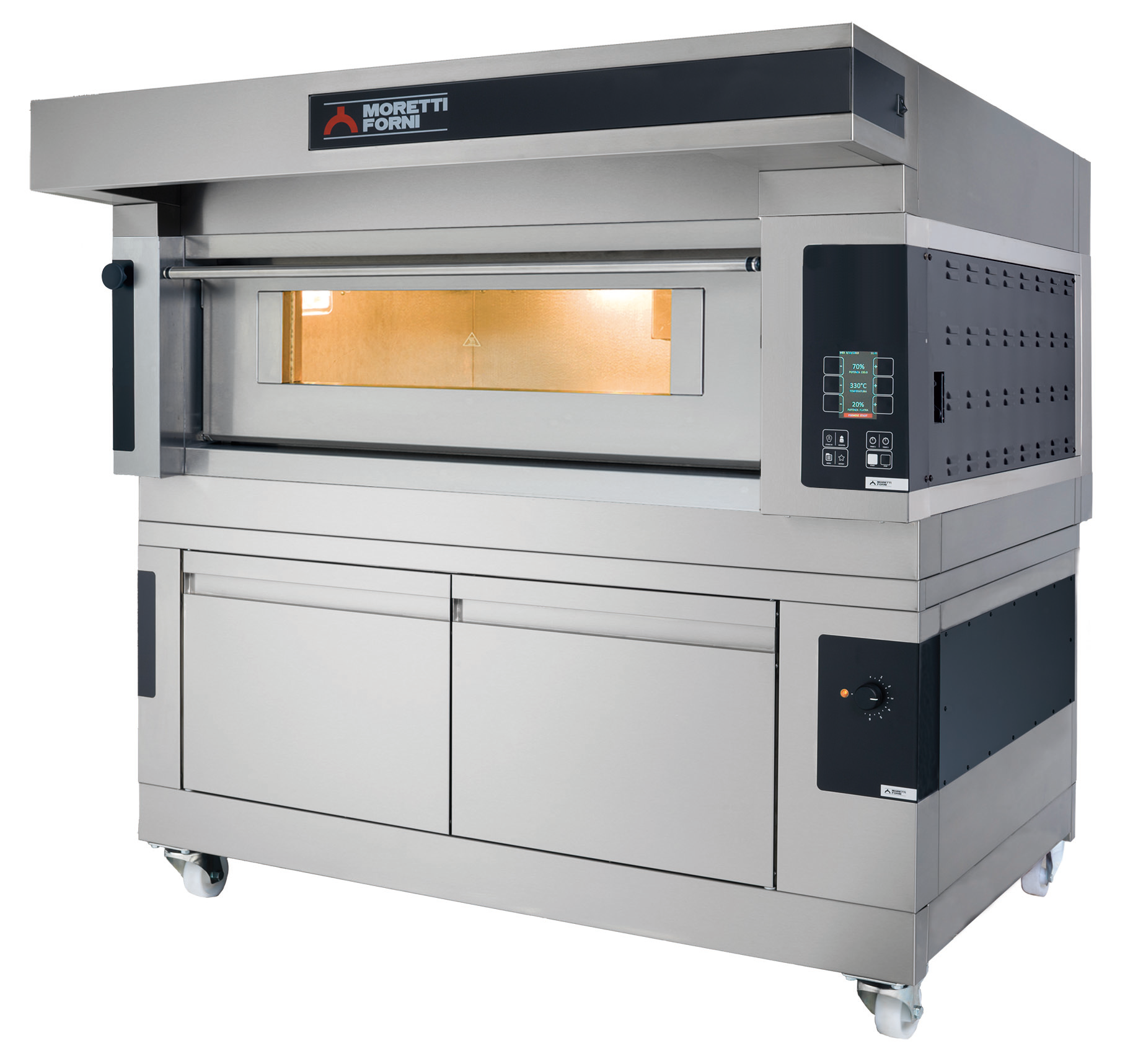 Moretti Forni Comp S100E/1A/L – Electric Single Deck Baking Oven With Prover   Bakery Ovens